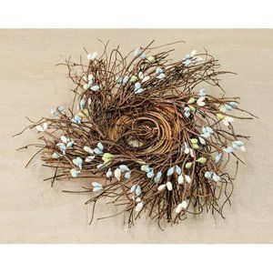 "Seabreeze Pip Berry Bird 4"" Nest"